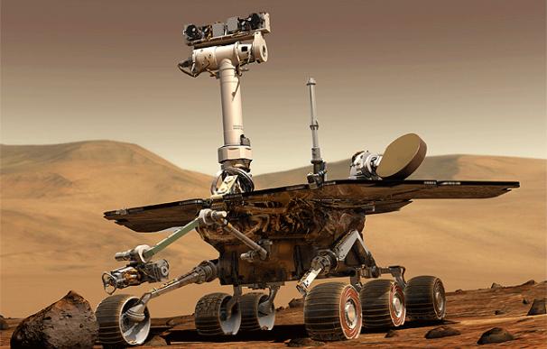 El robot de la NASA Opportunity, que lleva siete años en Marte, se hace más 'inteligente' con la edad