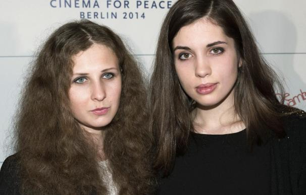 Dos Pussy Riot que ya estuvieron en prisión, detenidas en Sochi