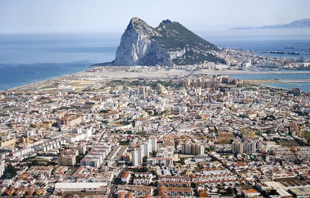 Imagen aérea de Gibraltar