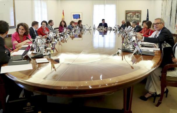 Fotografía reunión consejo de ministros Barcelona / EFE