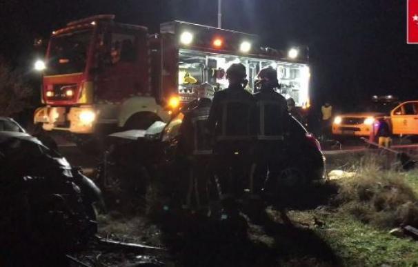 Accidente Madrid con tres muertos en Pozuelo