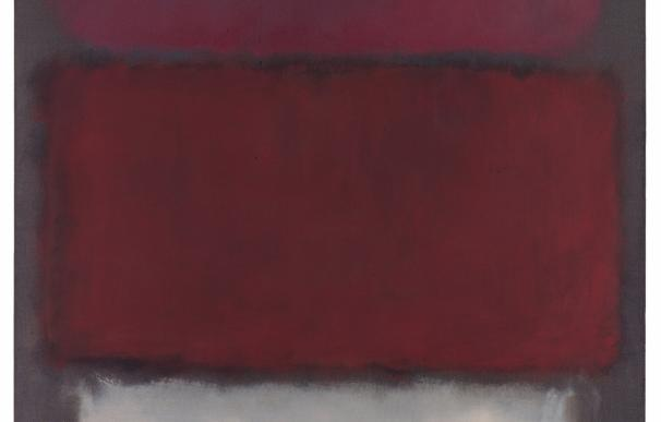 'Untitled 1960' de Mark Rothko. Cortesía de Sotheby's