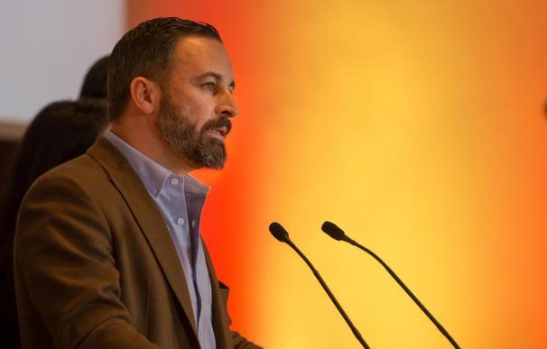 Santiago Abascal, líder del partido Vox (Foto: Eduardo Briones - Europa Press)