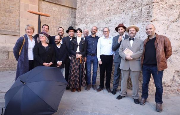 Torra mostró su satisfacción por la manifestación en Barcelona.
