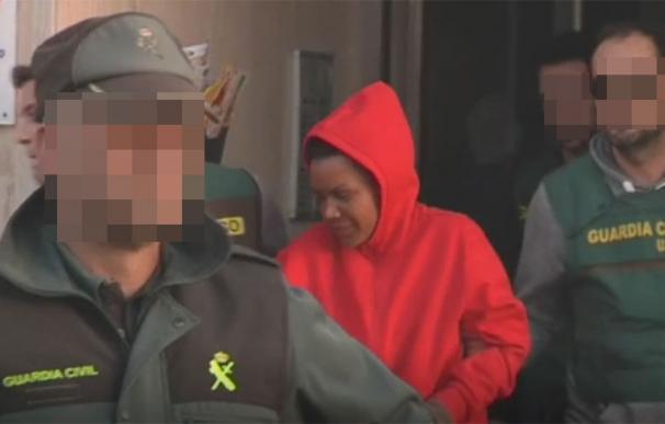 Ana Julia días después de su detención. | EFE
