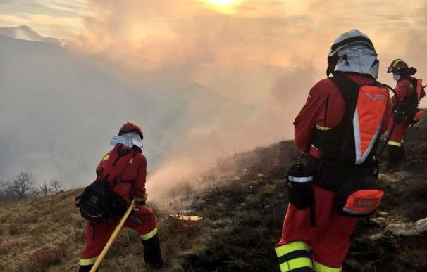 Cantabria fuego