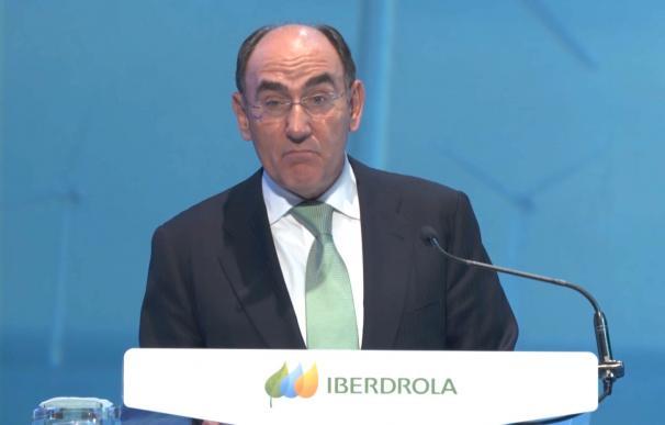 Ignacio Sánchez Galán, ante la junta general de accionistas