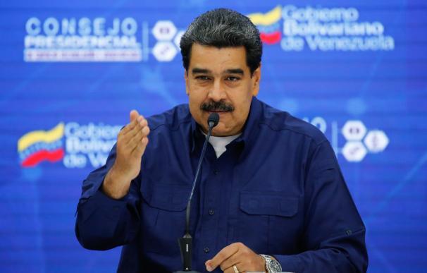 Nicolás Maduro en un acto de Gobierno
