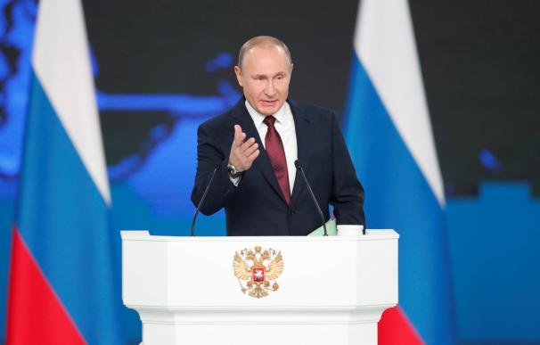 Putin en su discurso a la nación