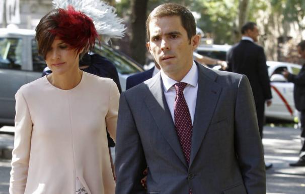 Aznar Jr y su esposa Mónica Abascal