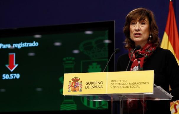 Yolanda Valdolivas, secretario de Estado de Empleo / EFE