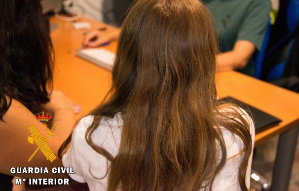 Operación de la Guardia Civil por abuso sexual en Vera Playa