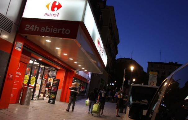 Fotografía Carrefour de noche