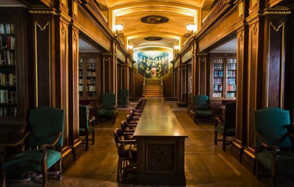 La biblioteca del Valle de los Caídos