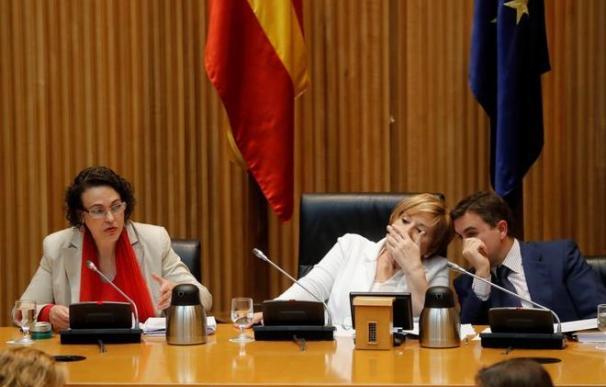 Magdalena Valerio en el Pacto de Toledo / EFE