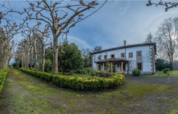 Palacio de Llanera, Asturias, propiedad de los herederos de Francisco Franco