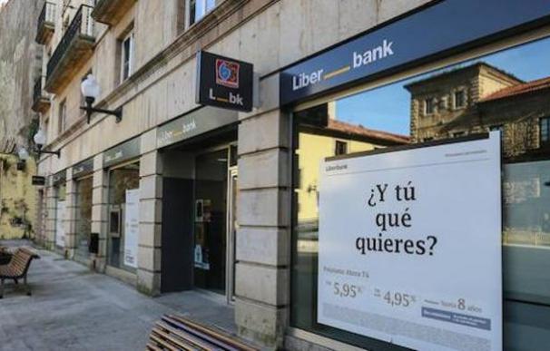 Fotografía de sucursal de Liberbank