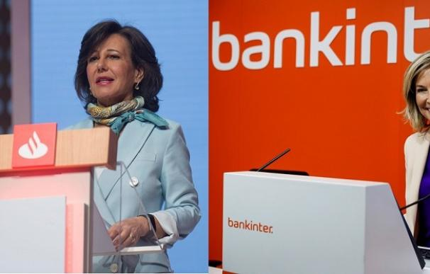 Ana Botín y Dolores Dancausa (Montaje EFE)