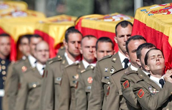 Funeral por los cinco militares que murieron en Hoyo de Manzanares