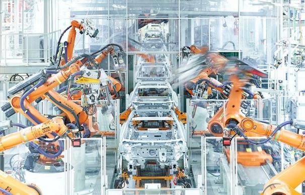 Linea de montaje del nuevo Audi A1 en la planta de Seat de Martorell