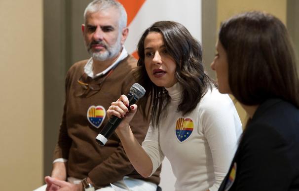 Inés Arrimadas, portavoz de Ciudadanos