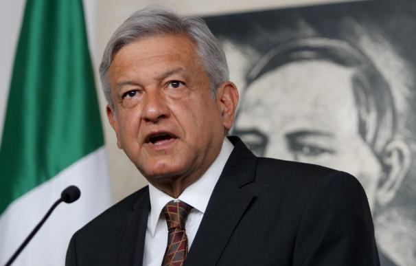 'AMLO', el político de izquierdas que sueña con la presidencia.