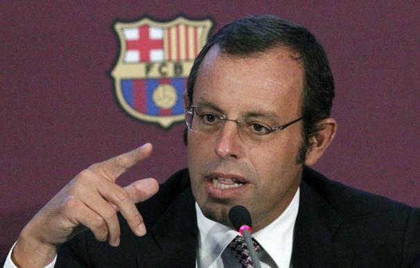 Un grupo de socios presentará el lunes una moción de censura a Sandro Rosell