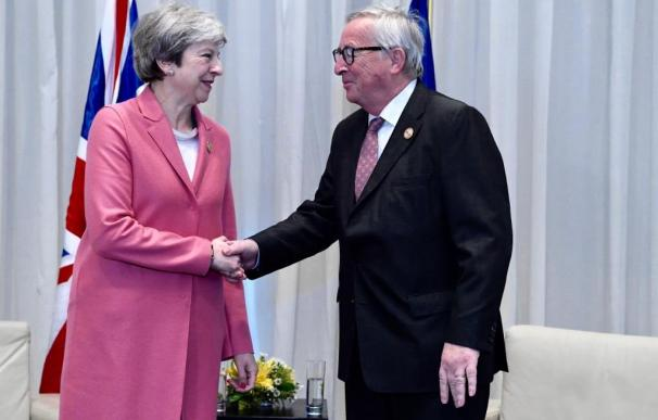 May y Juncker en Egipto