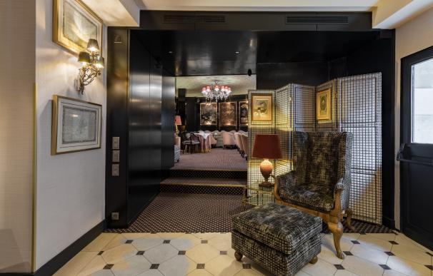 Lobby del hotel, estilo Años 20 / Room Mate Hotels