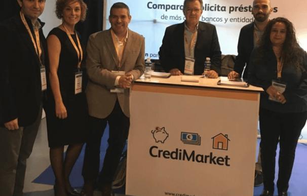 Parte del equipo de Credimarket, la startup comprada por el grupo aleán