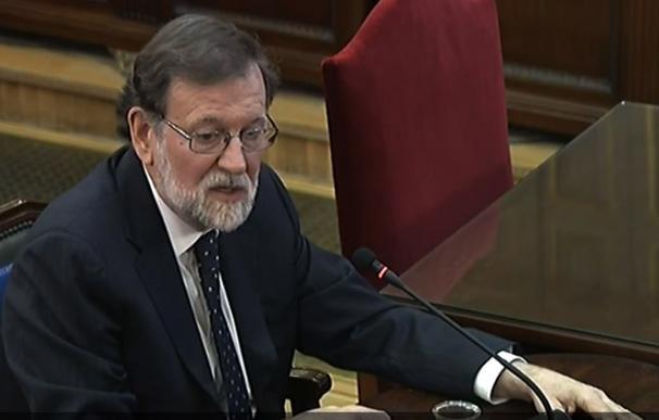 Mariano Rajoy, juiicio del procés