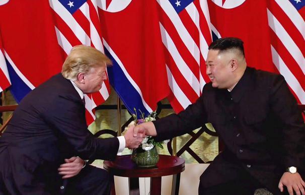 Trump y Kim Jong-un se han reunido por segunda vez en Hanoi. /EFE
