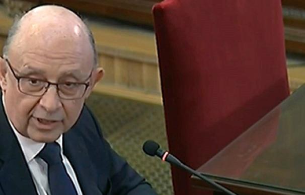 Cristóbal Montoro, juicio del procés, Tribunal Supremo