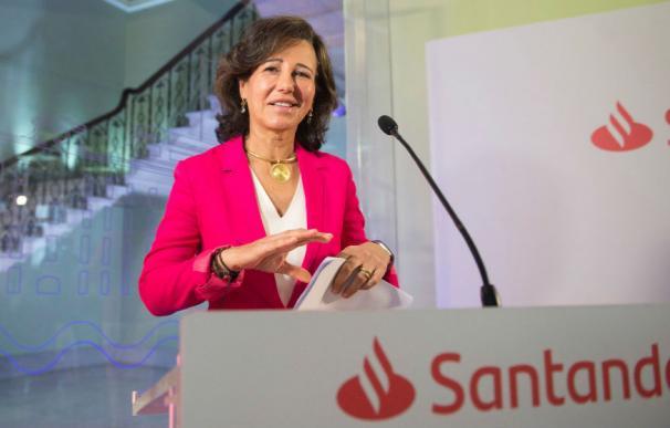 La presidenta del Banco Santander, Ana Botín.