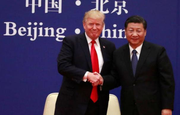 Fotografía de Donald Trump y Xi Jinping / EFE