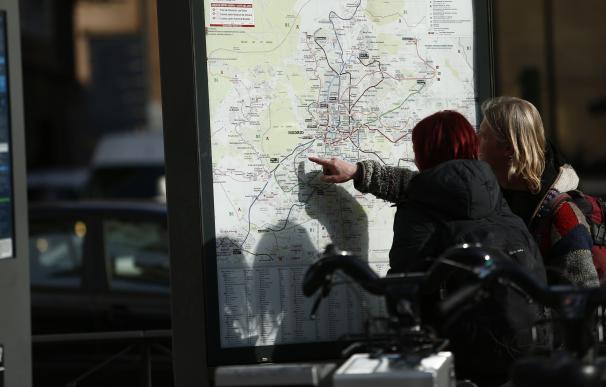 Turismo, turistas, turista, Plaza España, mapa de Metro de Madrid
