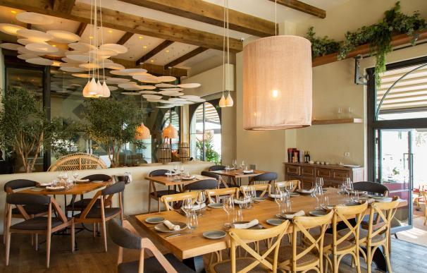 Uno de los espacios del restaurante © A[Brasa]
