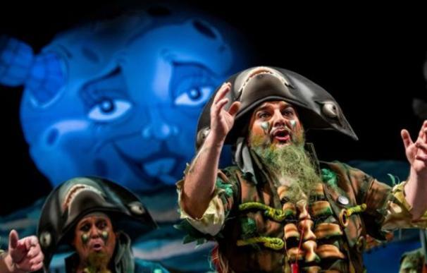 Los carnavales de Cádiz ya tienen ganador: 'La maldición de la lapa negra'