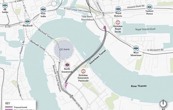 ACS y Ferrovial pujan por un contrato de 2.000 millones para un túnel en Londres