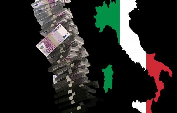 Fotografía de la renta básica en Italia.