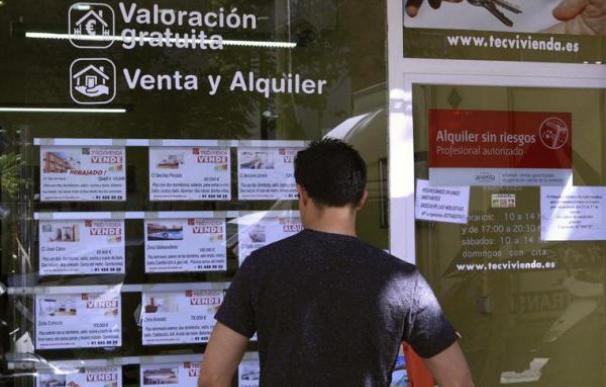 Foto buscando piso / EFE