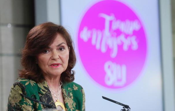 La vicepresidenta del Gobierno, Carmen Calvo / EFE
