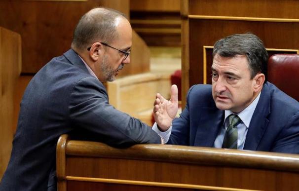 Carles Campuzano y Aitor Esteban.
