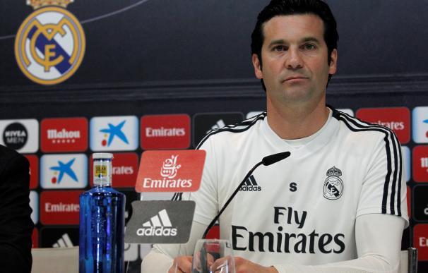 El entrenador argentino del Real Madrid, Santiago Solari