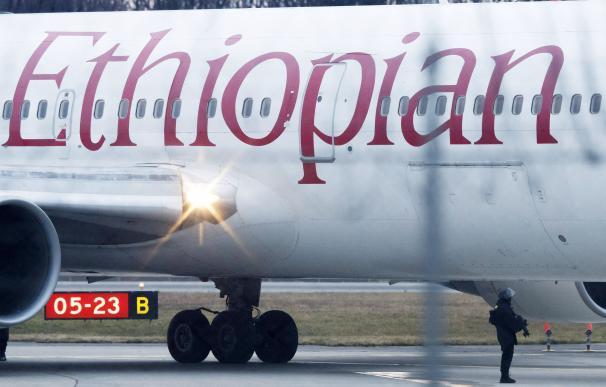 Avión estrellado Etiopía