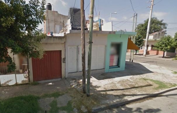 Fotografía de la casa de Argentina donde sucedió el asesinato.