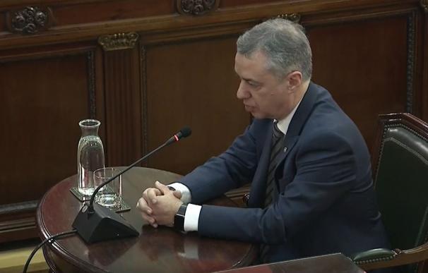Urkullu declara en el juicio al procés