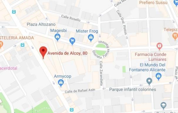 Alicante.- Sucesos.- Un niño de dos años se precipita desde un cuarto piso en Al