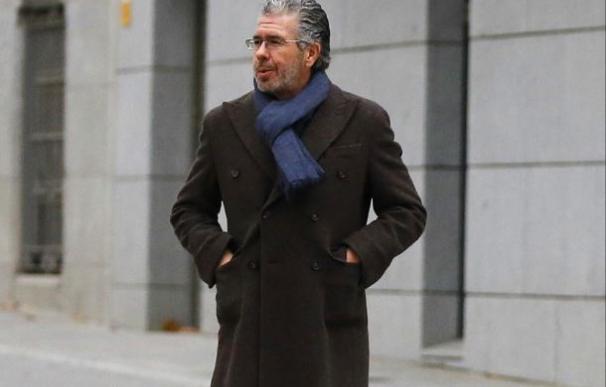 Francisco Granados a su llegada a la Audiencia Nacional