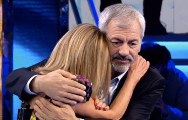 Carlos Sobera con Ana Obregón en 'Volverte a Ver'.